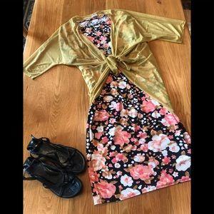 Two piece LuLaRoe outfit. XL Julia/Sm. Lindsay